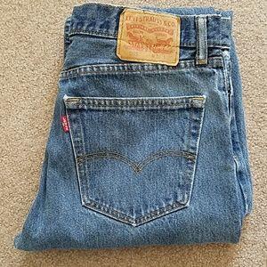 Levi's 505 Regular Fit Men's Jeans 33 x 30